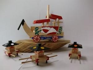 尾道の夏の風物詩・たのも(田面)船